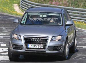 Audi Q6 trên đường thử