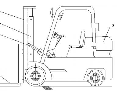 Cấu tạo xe nâng hàng và nguyên lý các bộ phận của xe nâng