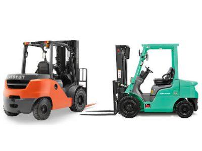 Tuy có những điểm chung về mặt cấu tạo, vận hành nhưng nhiên liệu sử dụng của xe nâng xăng và xe nâng dầu hoàn toàn khác nhau