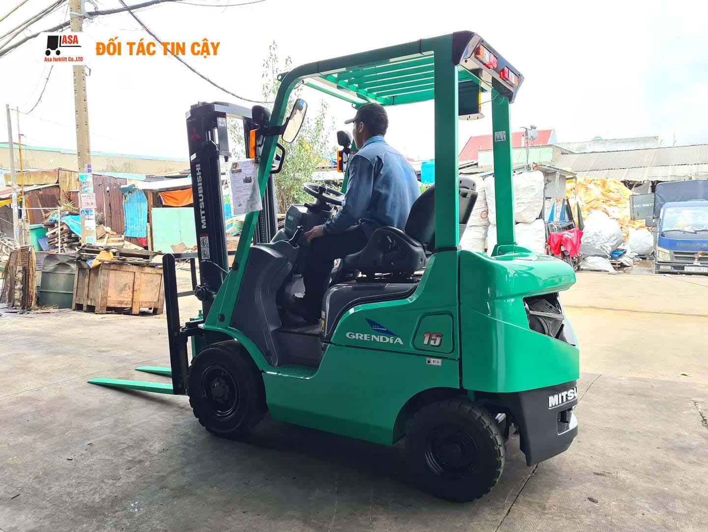 Asa là đơn vị uy tín chuyên cho thuê xe nâng hàng ở Biên Hòa, Đồng Nai