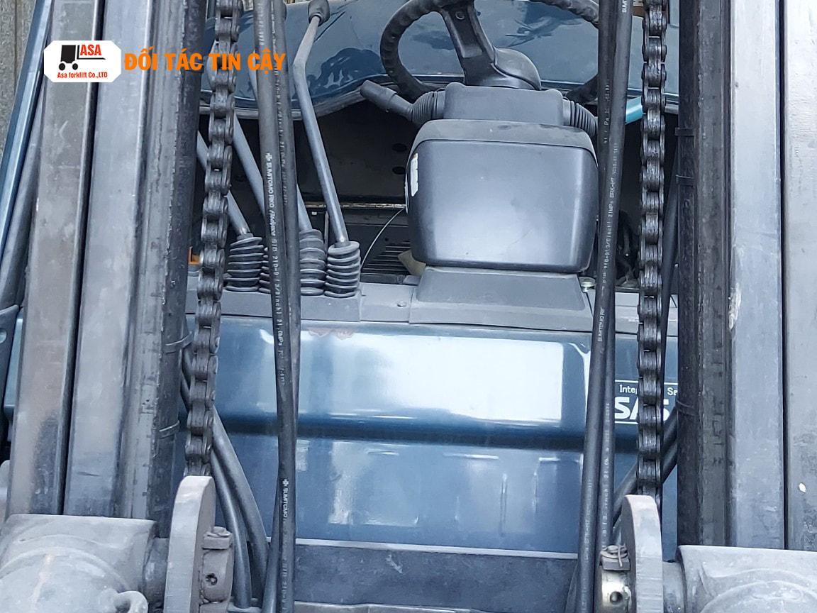 xe nâng dầu 3 tấn Toyota diesel có mức tiêu thụ thấp hơn từ 20 - 30 %