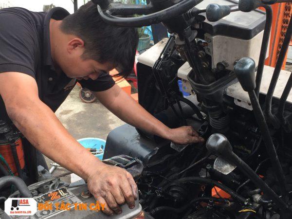 Đơn vị sửa xe nâng hàng uy tín, chất lượng tại Miền Nam