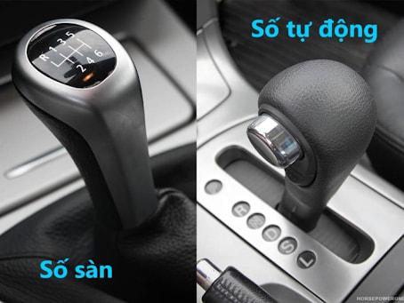 Xe được trang bị hộp số sàn luôn có giá thành rẻ hơn nhiều so với xe được trang bị hộp số tự động