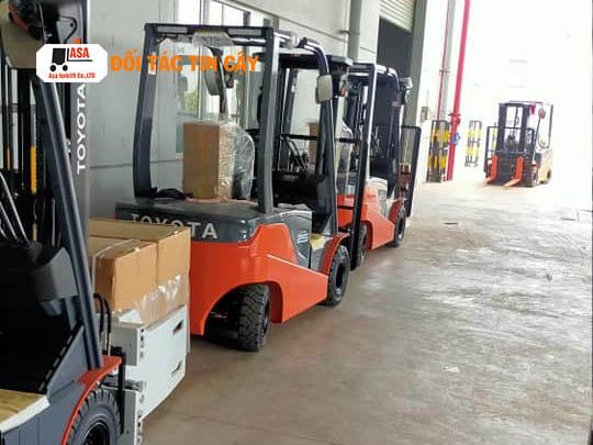 Tất cả xe nâng được Asa cung cấp đều có nguồn gốc xuất xứ rõ ràng, đảm bảo về chất lượng