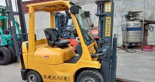 Xe nâng hàng rất đa dạng về sử dụng nhiên liệu để vận hành